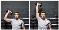 Dumbbell One-Arm Shoulder Press