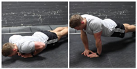 Push-Ups - Close Triceps Position
